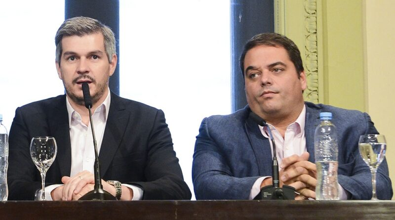 Marcos Peña y Jorge Triaca
