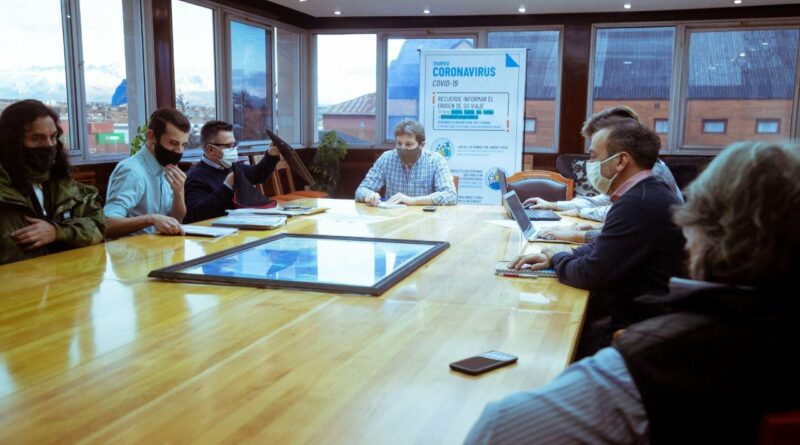 Melella con representantes de FePoTra