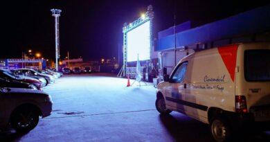 Autocine en Carrefour