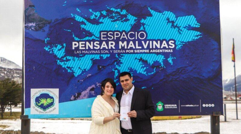 Casamiento en el espacio Pensar Malvinas en Ushuaia