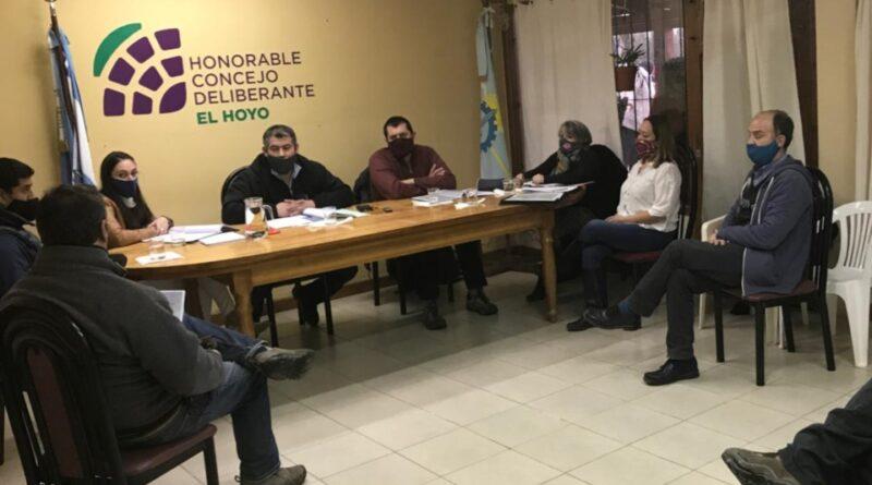 Concejales de El Hoyo
