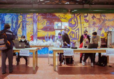 Entrega de módulos a estudiantes empadronados en comedores escolares