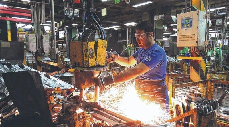 Obrero operario industrial