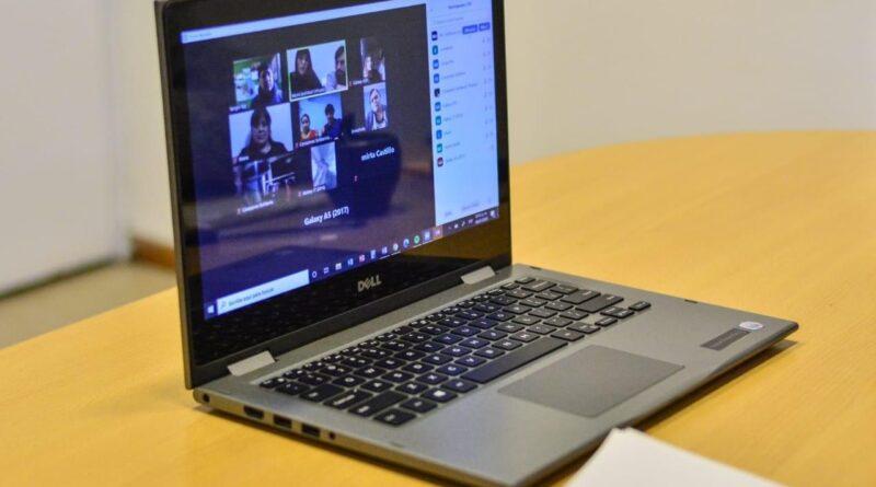 Videoconferencia de Trabajo de Ushuaia con comedores, merenderos y ollas