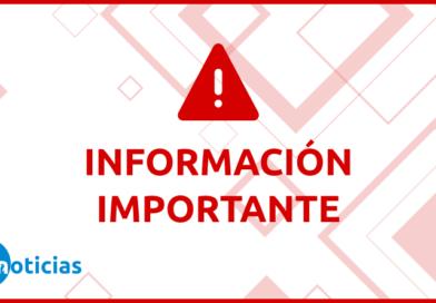 NUEVA Placa Información Importante TDF Noticias