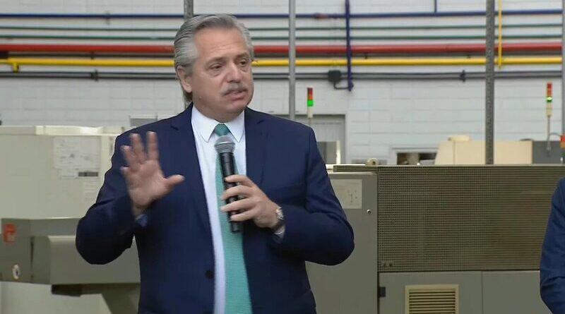 Alberto Fernández anuncia Precios Cuidados para la Construcción
