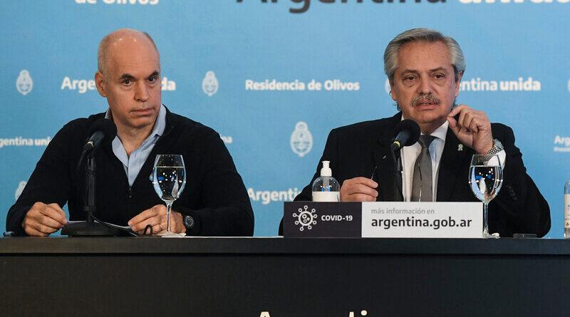 Horacio Rodriguez Larreta y Alberto Fernández