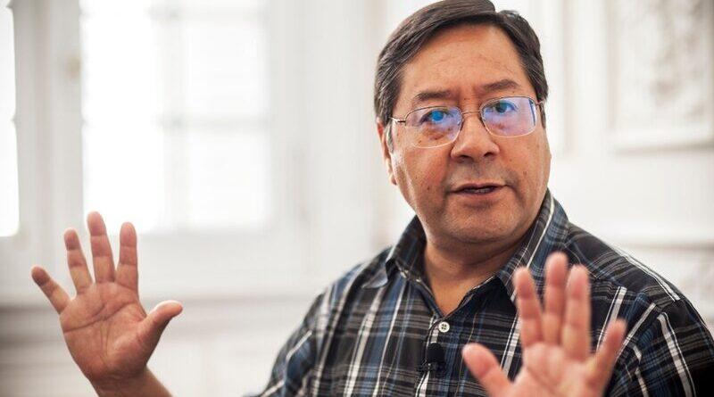 Luis Arce, candidato a presidente de Bolivia