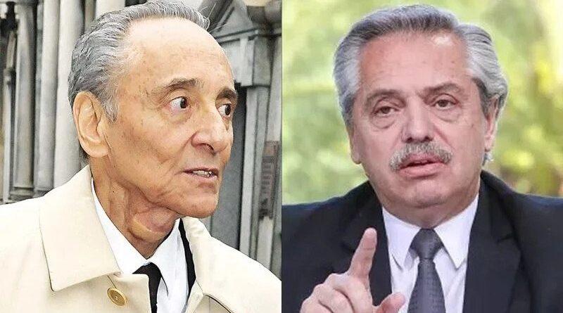 Hector Magnetto y Alberto Fernández
