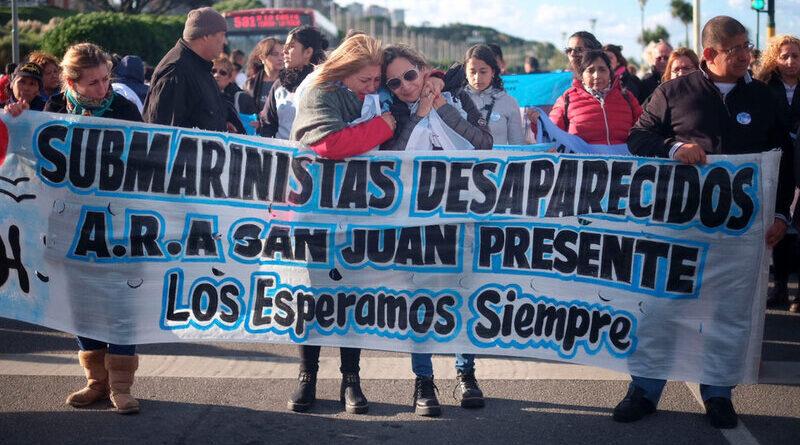 Marcha de familiares de tripulantes del ARA San Juan