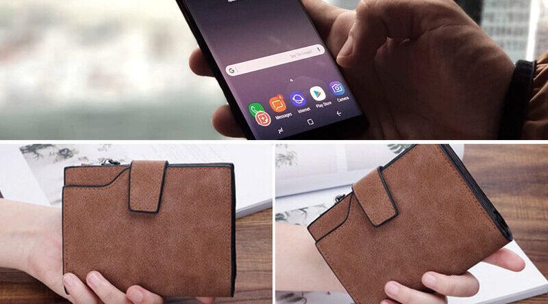 Celular y billetera