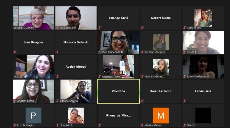 Videoconferencia Jovenes Emprendedores