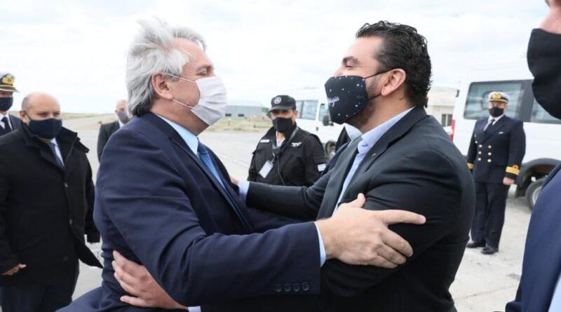Vuoto recibe a Alberto Fernández