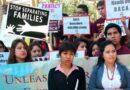 Jóvenes inmigrantes protestan en EEUU