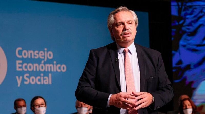 Alberto Fernández presenta el Consejo Económico y Social