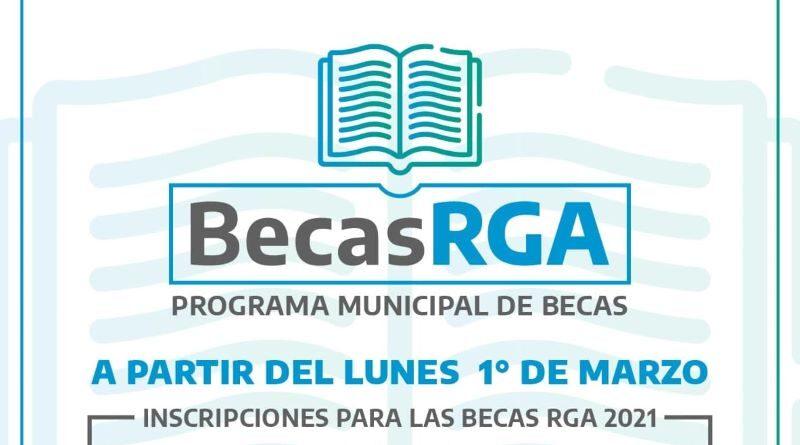 Becas RGA 2021