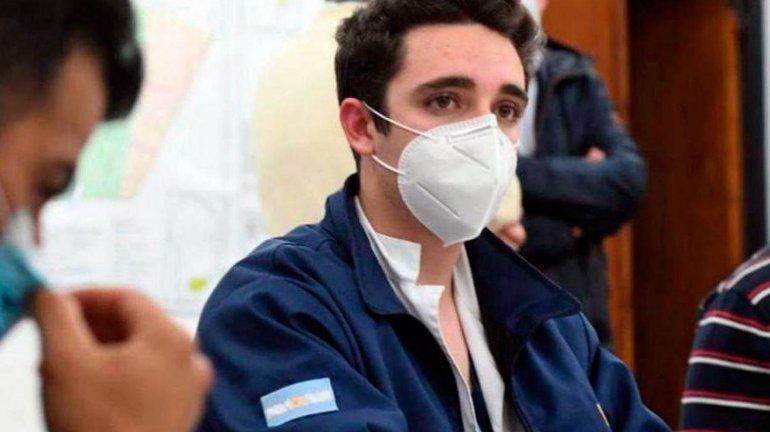 Ignacio Martín, de 19 años, médico trucho de Córdoba