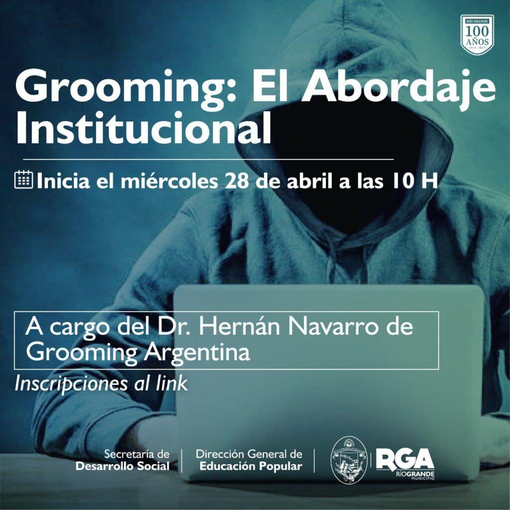 Capacitación Grooming: El abordaje institucional