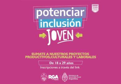 Inscripciones programa Potenciar Inclusión Joven, Río Grande