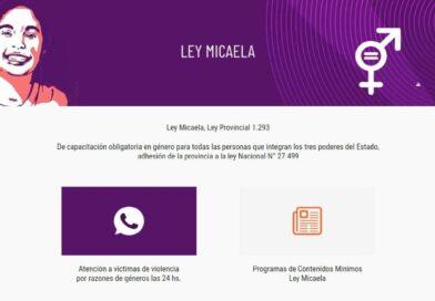 Página web atención 24hs para víctimas de violencia de género