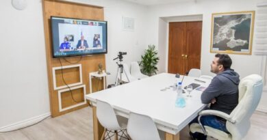 Vuoto, Pietragalla y funcionarios en videoconferencia