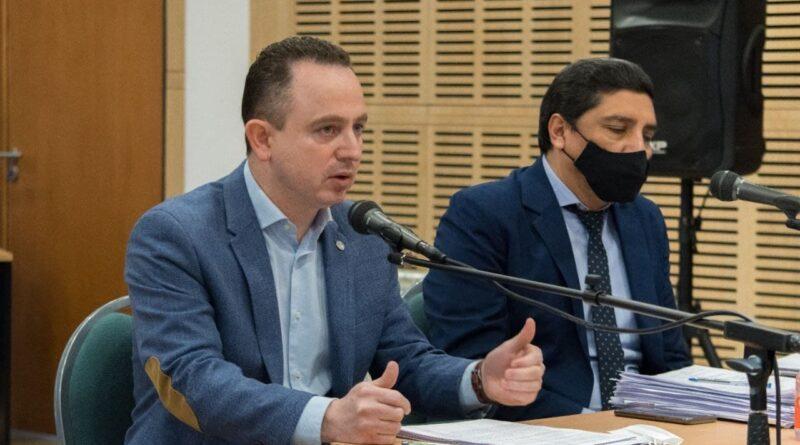 Gastón Díaz expone ante el STJ por coparticipación