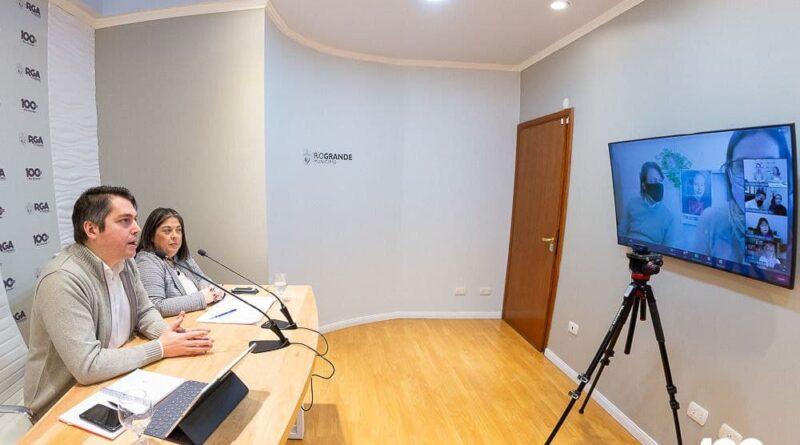 Perez y Angelinetta participan por videoconferencia de la presentación de la Ventanilla Virtual del Min. Desarrollo Social de Nación