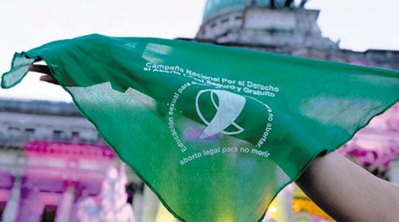 Pañuelo de la Campaña Nacional por el Derecho al Aborto Legal, Seguro y Gratuito