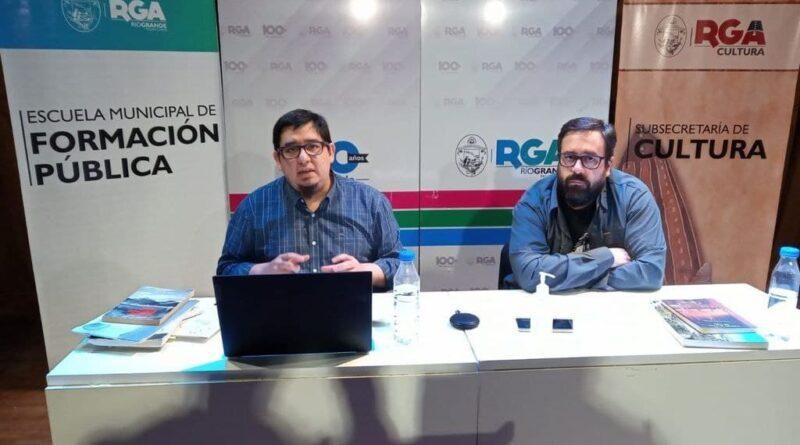 Historiadores Esteban Rodriguez y Federico Rodriguez